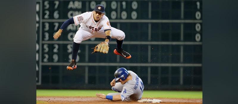 2017 LA Dodgers and Houston Astros